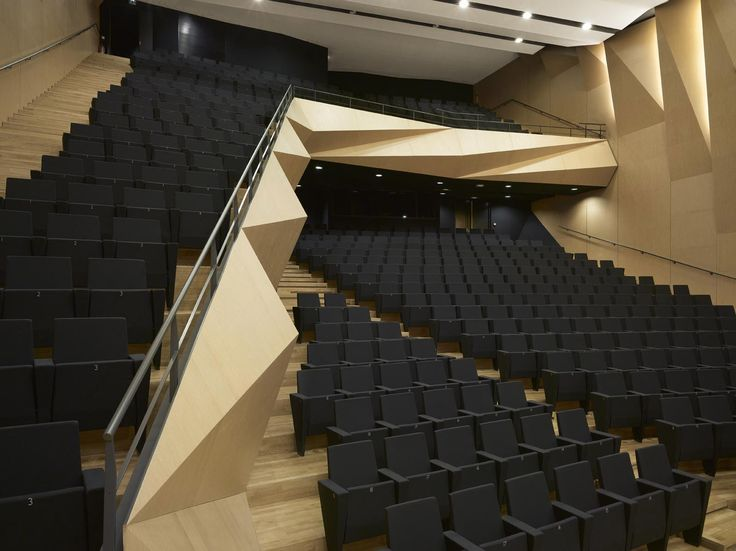awesome Aix-en-Provence Conservatory of Music | Kengo Kuma and Associates Check more at http://www.arch2o.com/aix-en-provence-conservatory-music-kengo-kuma-associates/