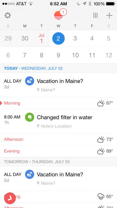Quick Tip: See Evernote Reminders in a Calendar with the Sunrise App