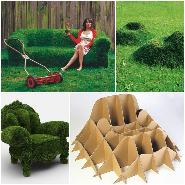 DIY Grow Your Own Grass Chair This would be super cool in my backyard one day. I'd definitely want the couch.