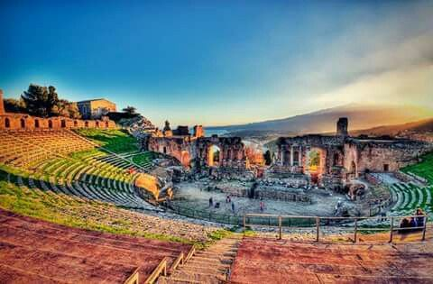 Teatro antico di Taormina, Sicilia