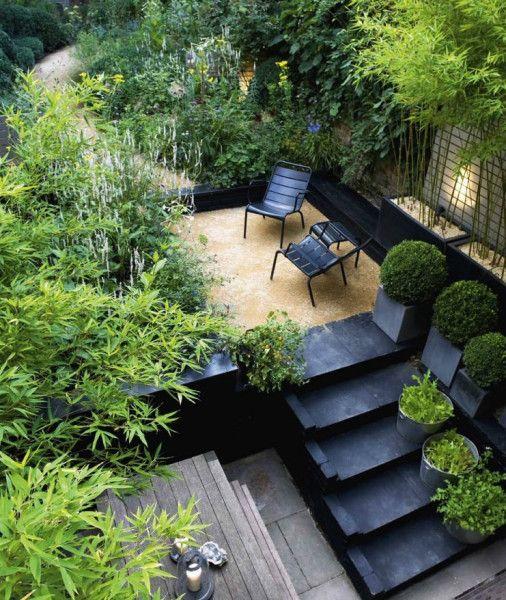 une touche de style indus pour notre exterieur with traverse chemin de fer leroy merlin. Black Bedroom Furniture Sets. Home Design Ideas