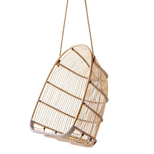 Balancelle en rotin et fibre synthétique Holly Sika Design
