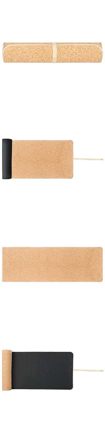 Yoga Props 179809: Cork Yoga Mat BUY IT NOW ONLY: $48.76