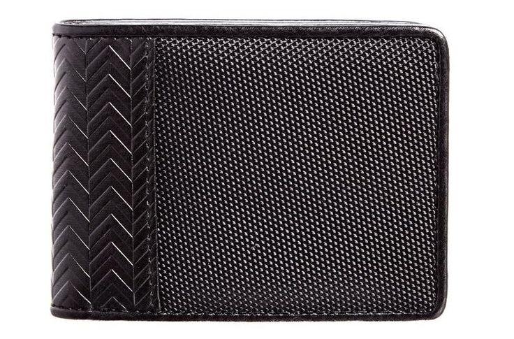 Crafted from soft grained vegan leather and punctuated with herringbone stitch, Luca Chiara's Passport Billford wallet not only looks stylish but has a luxurious feel. his thin, flexible bi-fold wallet offers identity thief protection and blocks fraudulent scan of your cards from a distance, thanks to its RFID technology.   Shop more on shop.addresschic.com