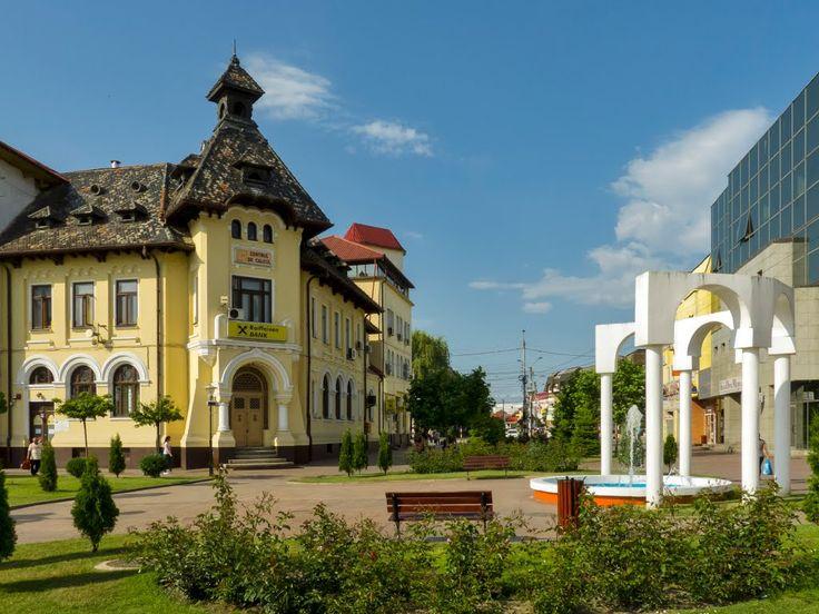 Sediul Raiffeisen Bank, strada Tudor Vladimirescu, Târgu Jiu