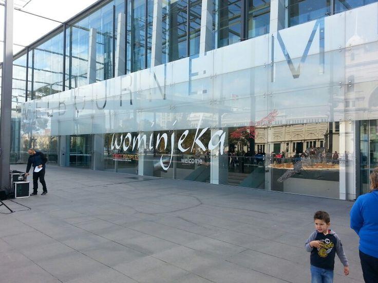 Melbourne museum welcome wominjeka