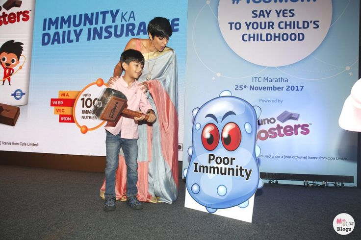 ActivKids Immuno Booster is a food supplement for kids in a chocolate form which was recently launched by Cipla in an event.