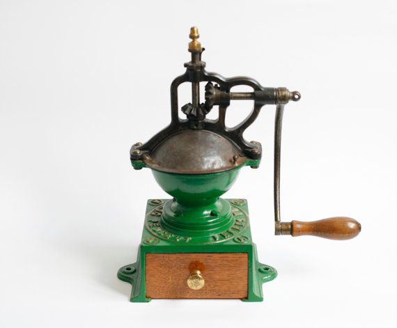 coffee grinder by cara zheng on Etsy