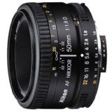 Nikon 50mm f/1.8D AF Nikkor Lens for Nikon Digital SLR Cameras (Camera)  #Techno