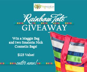 #Win A #Maggie Bag and Two Smateria Nick Cosmetic Bags - Mom 'N Daughter Savings