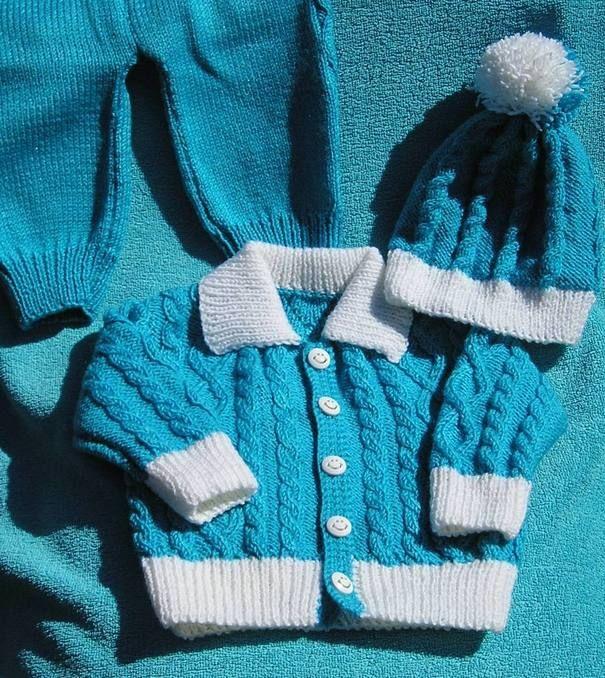 Вязаный костюм для мальчика,вязание на заказ,комплект для малыша,ручная работа,вязание для малышей