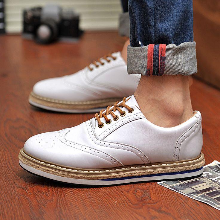 Korean version of the British men's shoes tide men's fashion casual shoes