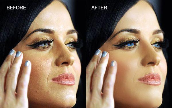 Photoshop Katy Perry