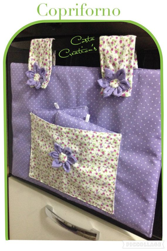 COVER OVEN with potholders pocket