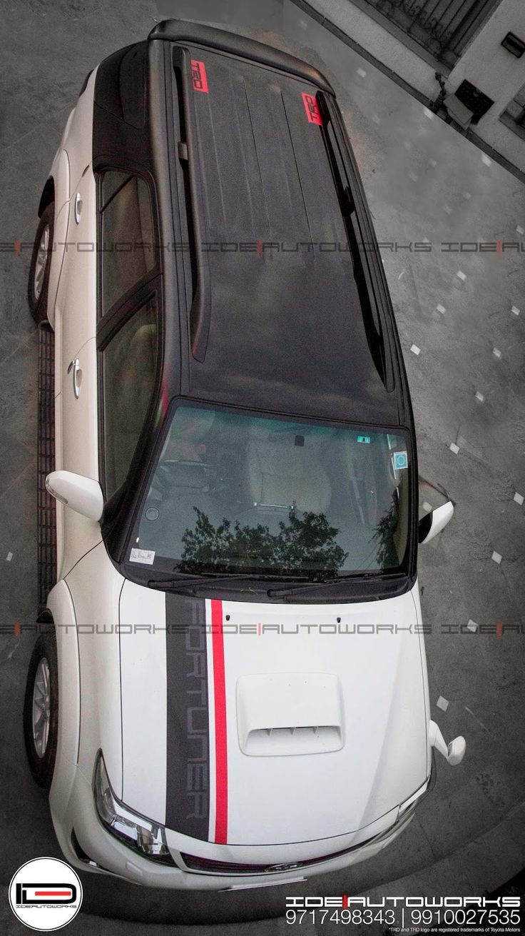 ide ideautowokrs fortuner carwrapping