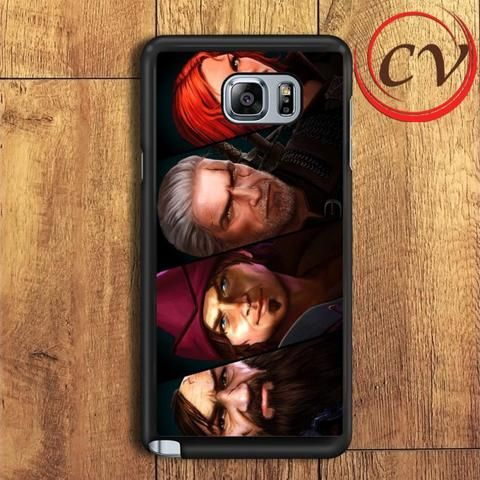 The Witcher Game Character Samsung Galaxy Note 5 Case