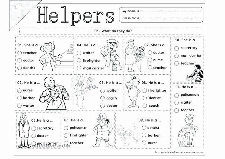 Free Kindergarten Science Worksheets