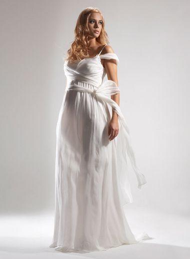 Свадебные платья для беременных.