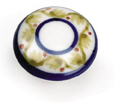 painted porcelain knob