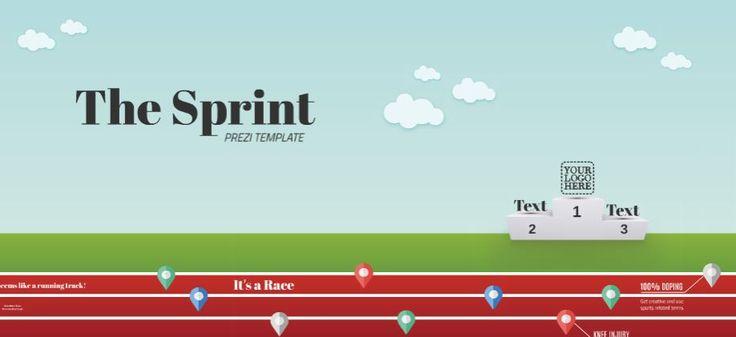 The Sprint Presentation Template | ShareTemplates