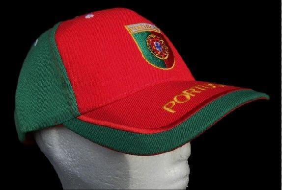 NEW PORTUGAL PORTUGUESE FLAG RED GREEN SPORTS SOCCER CAP #portugal #portugalcap #portugalhat #portugalflaghat #baseballcap #baseballhat #portuguese #iloveportugal #eurochamps2016