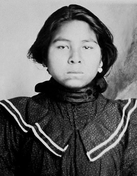 Yuchi woman before 1907. - Today the Yuchi live primarily in the north eastern Oklahoma area, where many are enrolled as citizens in the federally recognized Muscogee Creek Nation. Some Yuchi are enrolled as members of other federally recognized tribes, such as the Absentee Shawnee Tribe and the Cherokee Nation.