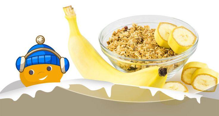 Ricette Light - Barrette d'avena e banana con gocce di cioccolato - ChiacchiereDolci.it #dolcificante #Stevia #ricetta #dolce #barrette #snack #banana #cereali #food #dieta #light #Truvìa