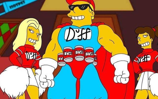 Sta per arrivare la Duff, la birra dei Simpson Uguale uguale a quella che beve normalmente Homer a Springfield, sta per arrivare nelle nostre case la birra Duff. Non è uno scherzo ma è proprio la Fox che ha deciso di creare e commercializzare la #birra #tv #simpson #design