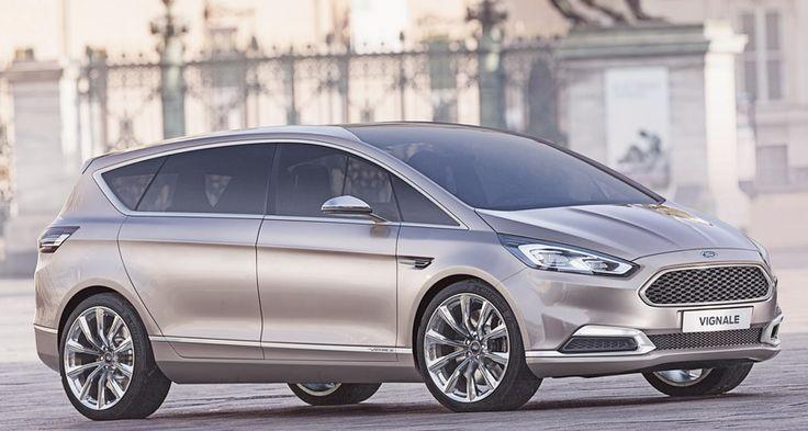 Ford S-MAX Vignale Concept, el lujo llega al futuro monovolumen deportivo - http://www.actualidadmotor.com/2014/04/08/ford-s-max-vignale-concept-lujo-atencion/