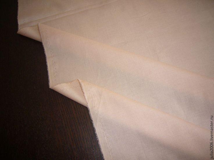 Купить ткань для тела - бежевый, телесный, ткань для кукол, ткань для Тильды, ткань для рукоделия, тильда