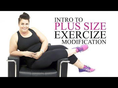 Good Mornings Hamstring Exercise Modification - plus size - workout - episode 11 - YouTube