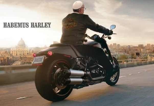 Ferenc pápa elárverezi Harley-Davidsonját - http://hjb.hu/ferenc-papa-elarverezi-harley-davidsonjat.html/