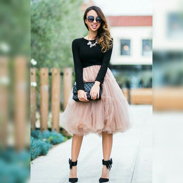 """Chicwish tulle skirt @laceandlocks"