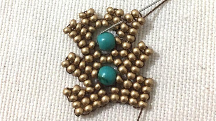 Herringbone flat Bracelet Herringbone hasır bileklik yapımı ( kenarlar...