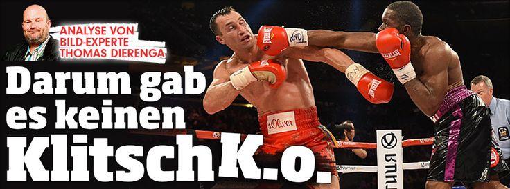 Analyse von Box-Experte Thomas Dierenga: Darum gab's keinen KlitschK.o. http://www.bild.de/sport/mehr-sport/wladimir-klitschko/analyse-darum-gab-es-keinen-klitsch-ko-40702466.bild.html