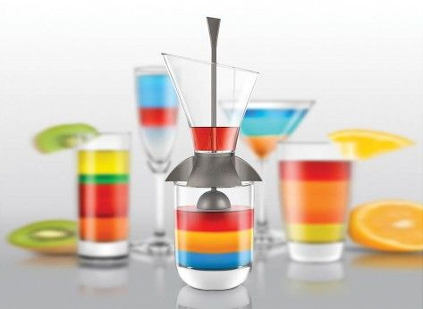 Gadget pentru cocktailuri multicolore - Mindblower.ro Cadouri pentru prieteni cu aspiratii de barman