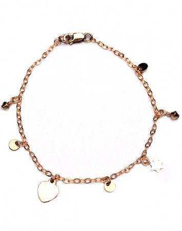 Petite Grand Gold Mix Chain Bracelet