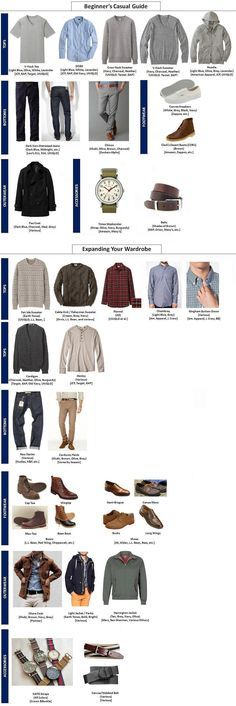 "male fashion advice ""casual guide"" - can be adapted to make it more feminine for sure!"