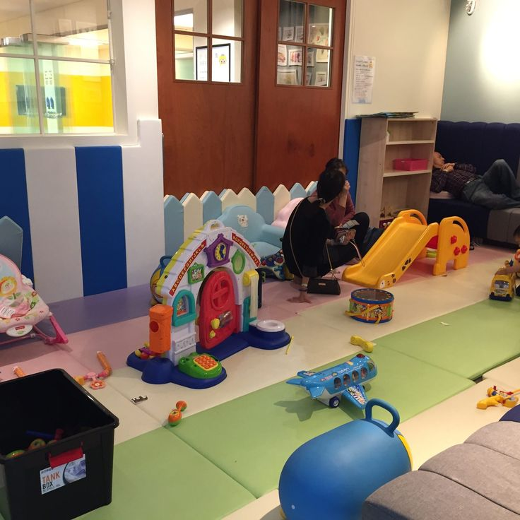 The baby nursery, soft play, at Pororo Lounge, Coex, Seoul.