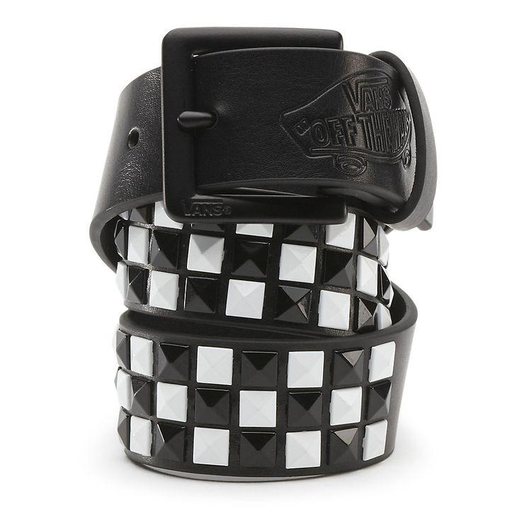 Boys Vans Studded Leather Belt [NQUBA2] - $30.00 : Vans Shop, Vans Shop in California