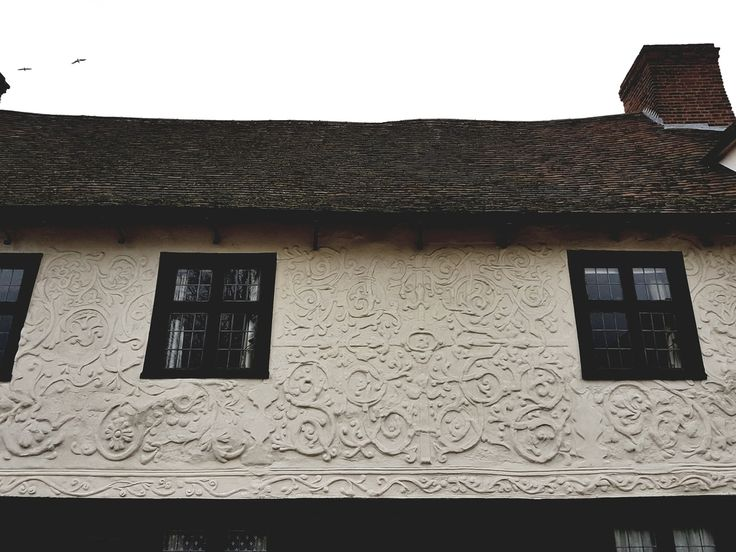 The Garrison House 17th Century Wattle And Daub Still Sporting Its Amazing Pargeting