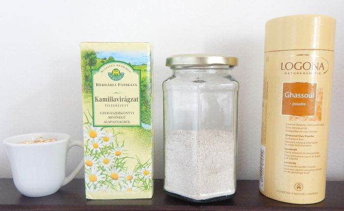 Oat-Chamomile-Clay Facial Cleanser http://peonilla.com/home-made/29-kimeletes-nyugtat-es-puhit