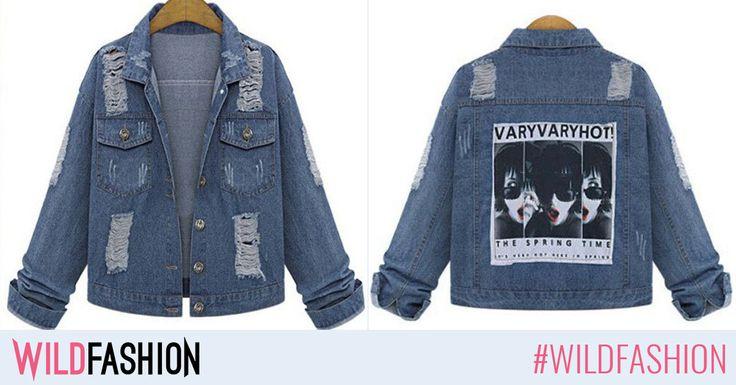 Moda revine mereu. Like dacă îţi plac modelele din denim sau Share dacă vrei să porţi jacheta noastră.