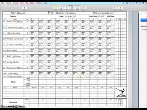 Best 25+ Softball scorebook ideas on Pinterest Trading card - football score sheet template