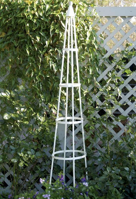17 best images about garden obelisks on pinterest for Garden obelisk designs