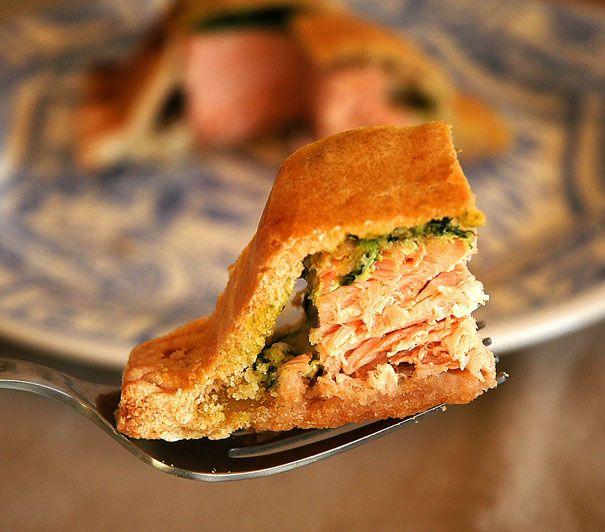 Daring Cooks de diciembre: Salmón envuelto | Recetas con fotos paso a paso El invitado de invierno