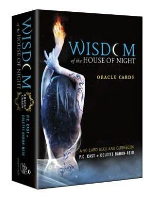 Wisdom of the House of Night Oracle Cards: A 50-Card Deck and Guidebook. I'm not a fan of the book series, but this has the prettiest photomanip art I've ever seen in a deck or just ever. It's an inexpensive deck too.