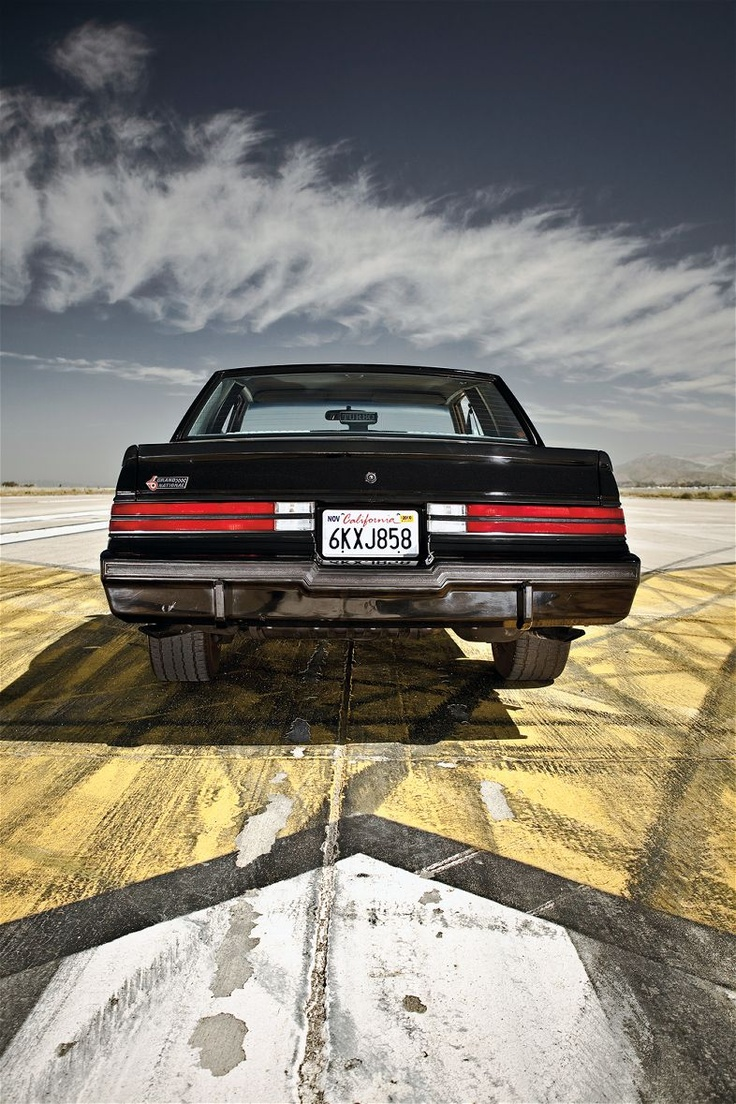 1987 Buick Regal Grand National Rear End  photo