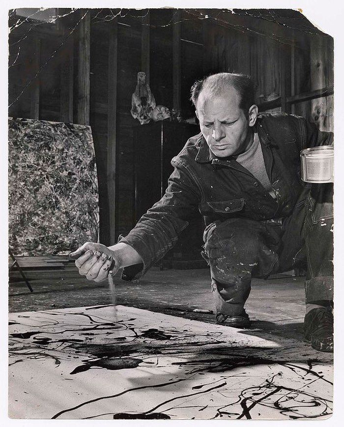 """Int'l Center of Photography (@icp) on Instagram: """"A Pollock portrait by Martha Holmes. Jackson Pollock was born on this day in 1912.  Martha…"""""""