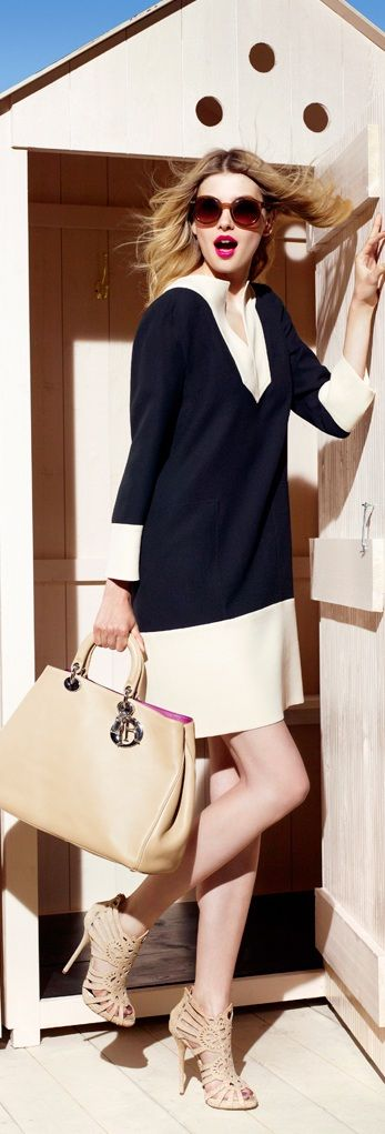 Christian Dior | Dress for Work. For more luxury news check out: http://luxurysafes.me/blog/